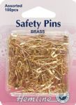 H419.99.100 Safety Pins: Assorted Value Pack - 100pcs